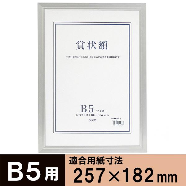 セリオ アルミ賞状額 B5 SRO-1324