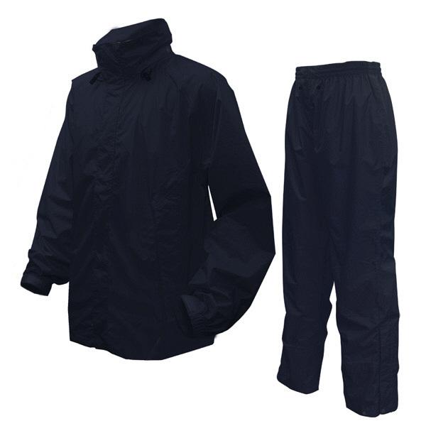 アーヴァン 男性用レインスーツ M 紺