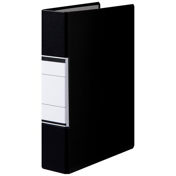 パイプ式ファイルA4 とじ厚50 黒