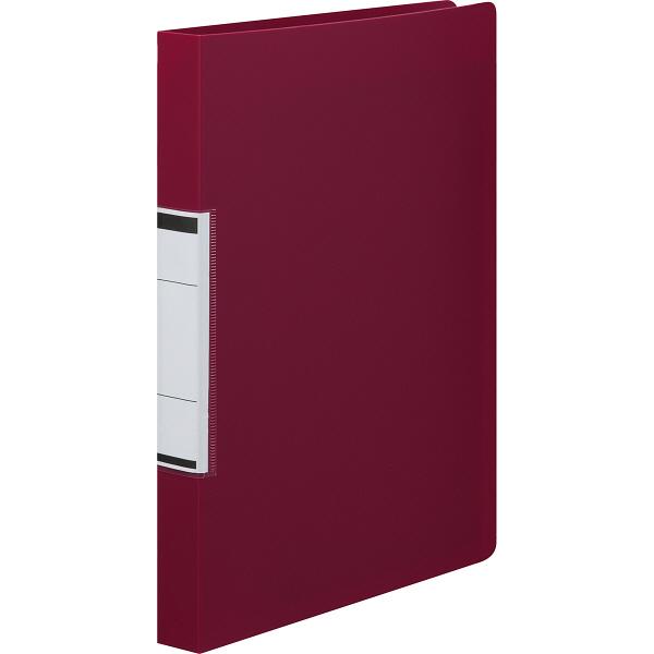 リングファイル A4縦 背幅27mm 赤