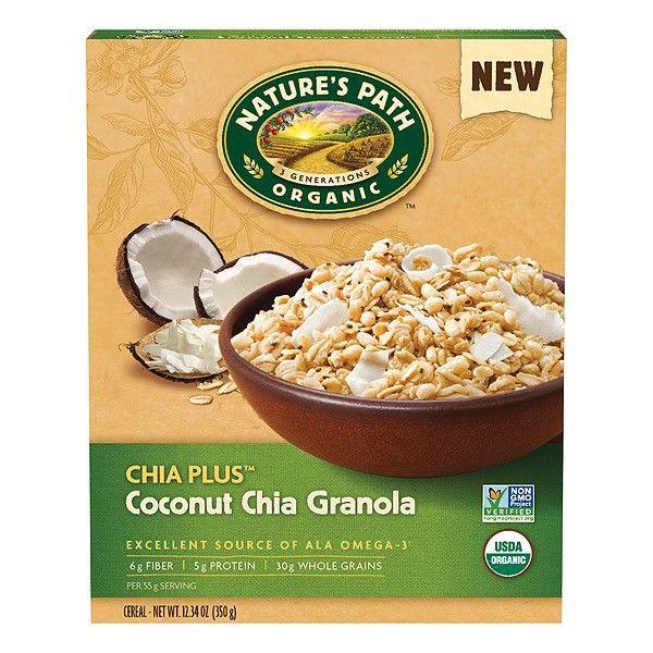 オーガニック ココナッツ チアグラノーラ