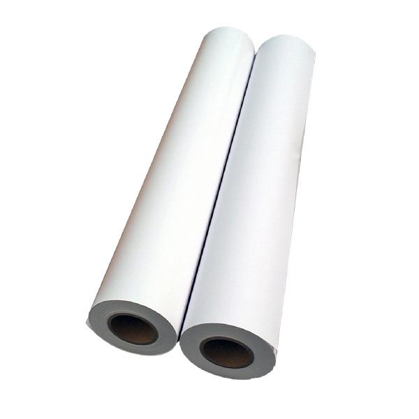アスクル プロッタ用紙 普通紙スタンダードタイプ 610mm×45m