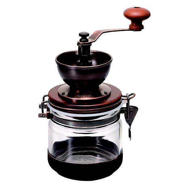 ハリオ キャニスターコーヒー ミル CMHC-4C HARIO (取寄品)