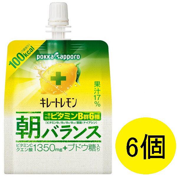 キレートレモン 朝バランスゼリー6個