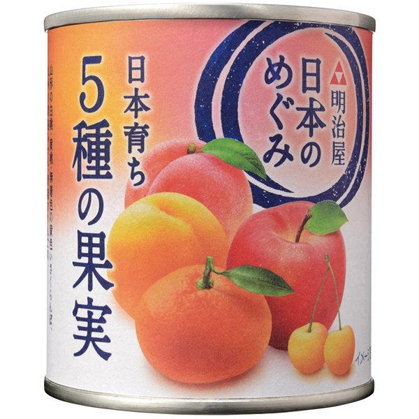 明治屋 日本のめぐみ 5種の果実