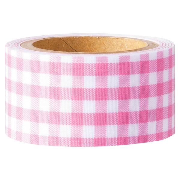 くるくるおなまえテープ2.3cm巾ピンク