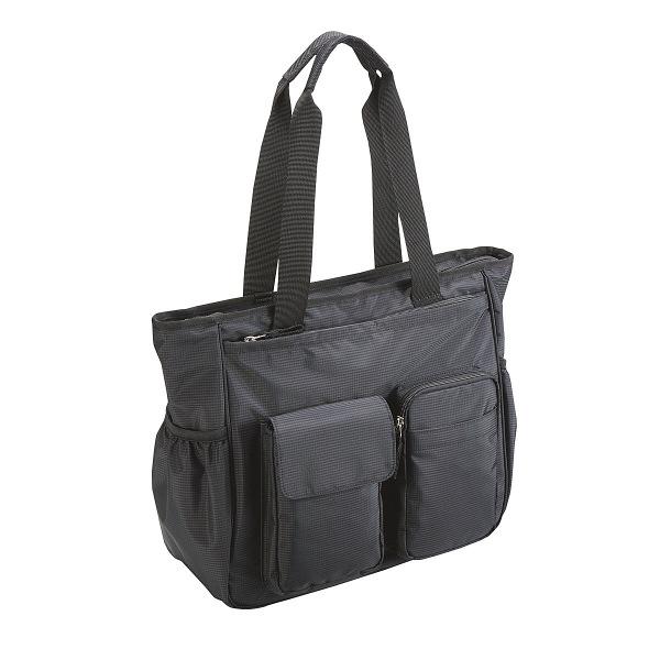 住商モンブラン 訪問看護バッグ(2WAY) ブラック 容量23L AKB1000-01 訪問用バッグ
