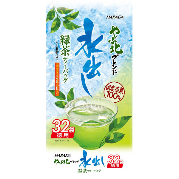 やぶ北ブレンド徳用水出し緑茶TB 1袋