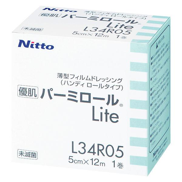 ニトムズ 優肌パーミロール Lite 50mm×12m L34R05 1巻