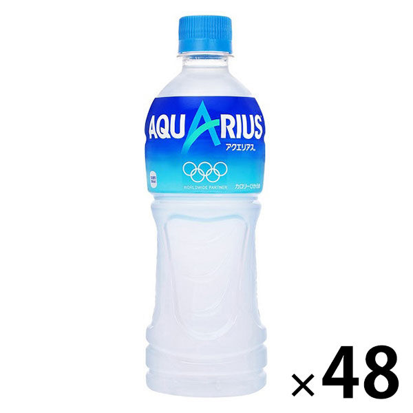 アクエリアス 500ml  48本