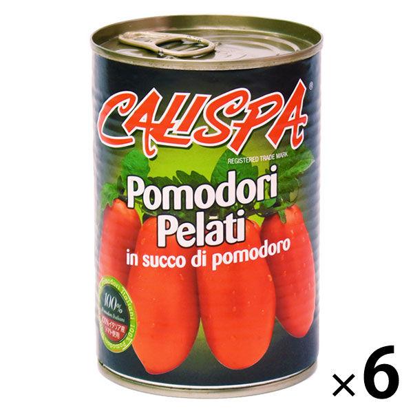 イタリア産カリスパホールトマト 6缶