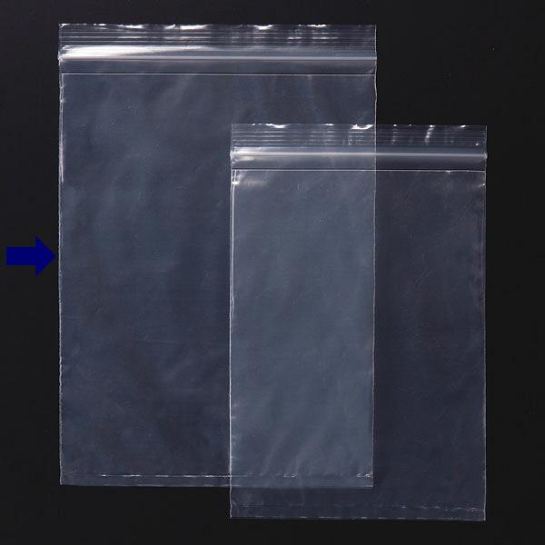 伊藤忠リーテイルリンク ポケット付き チャック袋 B5 100枚入 ZBP-9B5