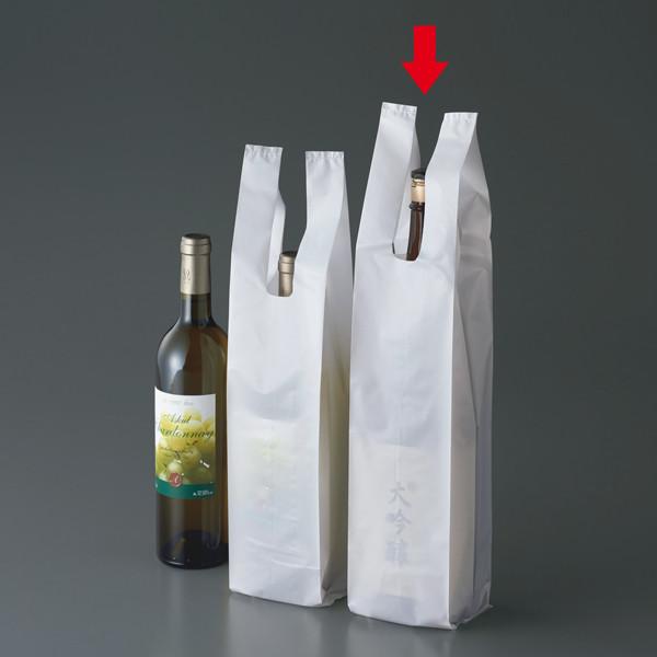 一升瓶用レジ袋 1袋(100枚入)