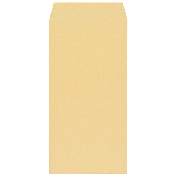 寿堂 FSC認証クラフト封筒 長3 枠なし 3000枚(1000枚×3箱)