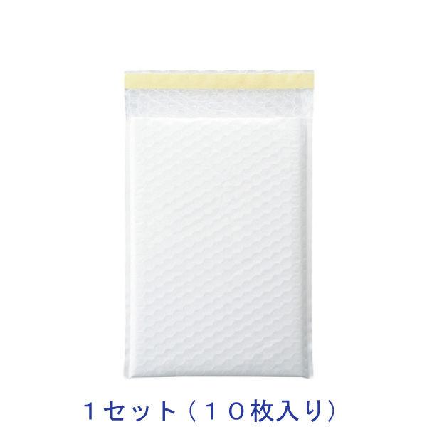 酒井化学工業 クッション封筒(ホワイト) LPW-2 195巾 10袋入 1セット(10枚)