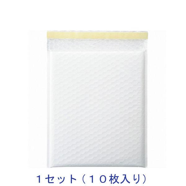 酒井化学工業 クッション封筒(ホワイト) LPW-3 235巾 10袋入 1セット(10枚)