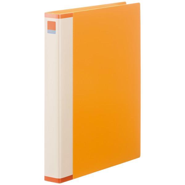 クリヤーブック交換式25P オレンジ