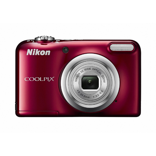 ニコン 単3形対応デジタルカメラ レッド COOLPIX A10RD