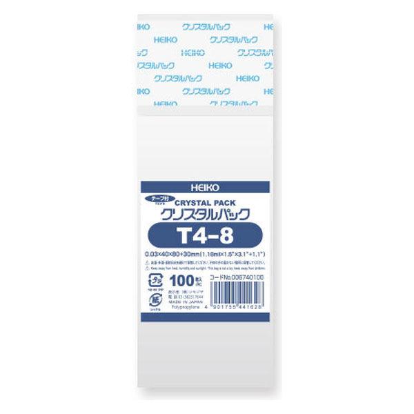 シール付OPP袋 40×80mm