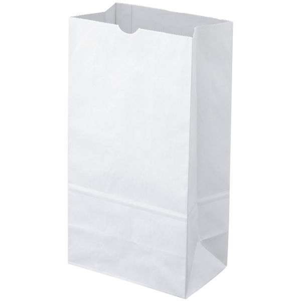 角底紙袋 白 4号 600枚