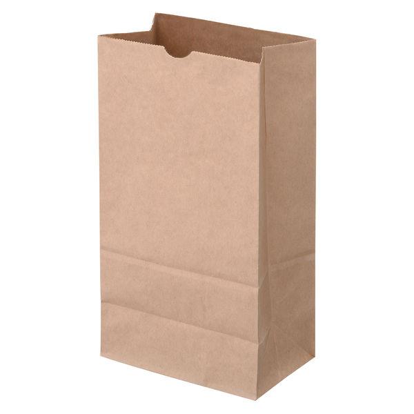 角底紙袋 茶 4号 2000枚