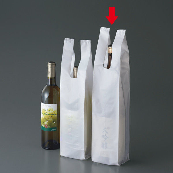 一升瓶用レジ袋 1セット(1000枚)