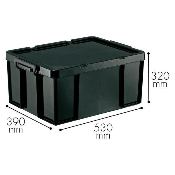 天馬 ロックス530L ブラック 1箱(4個入)