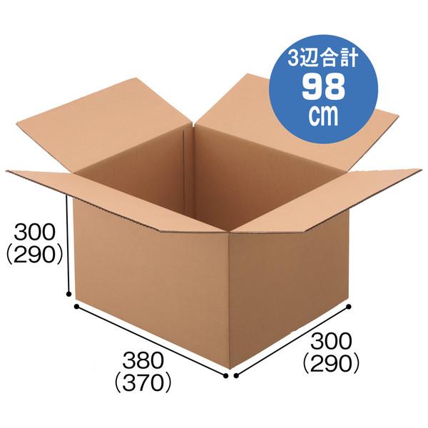 2枚売り段ボール100CM以内 38x30x30 2518-01-00