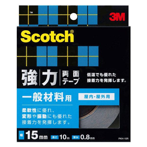 スリーエム ジャパン スコッチ 強力両面テープ 一般材料用 15x10 (箱) PKH-15