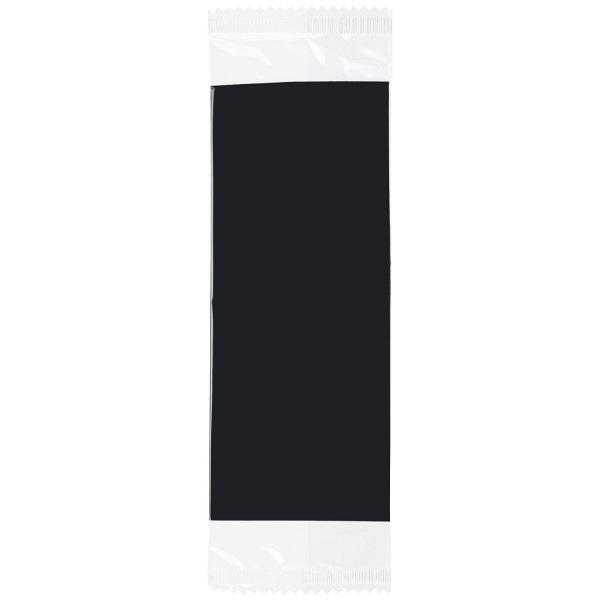 レーヨンおしぼり平判ブラック 50枚