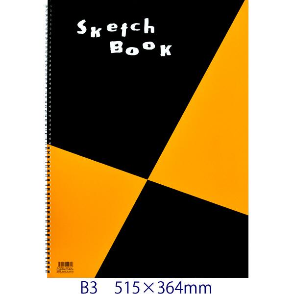 マルマン スケッチブック 図案印刷シリーズ B3 S110