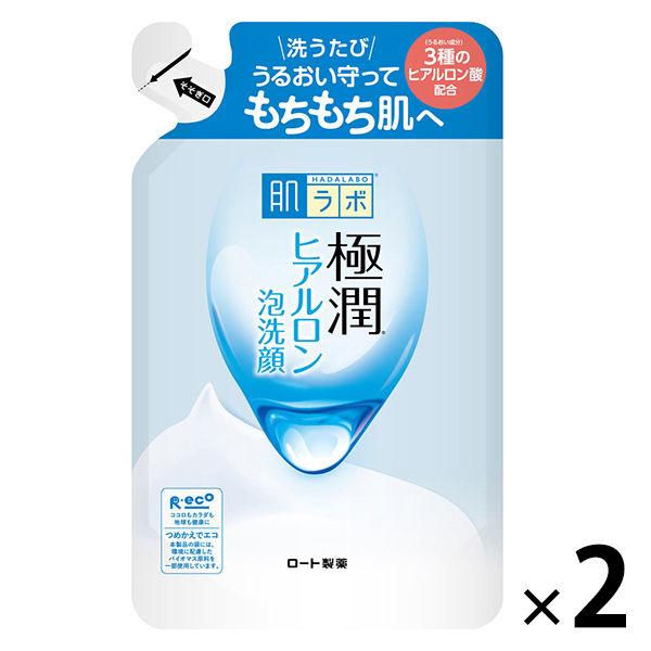 肌研 極潤 ヒアルロン泡洗顔 詰替2個