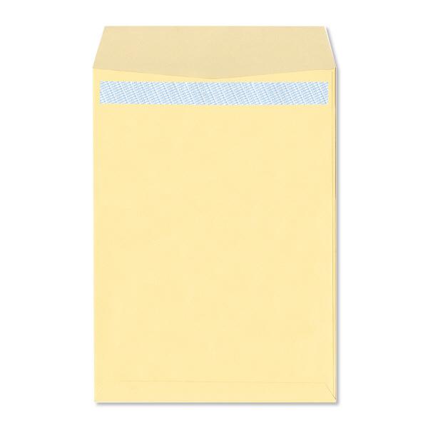 ハート 透けない封筒 カラー テープ付 角2(A4) クリーム XEP473 500枚