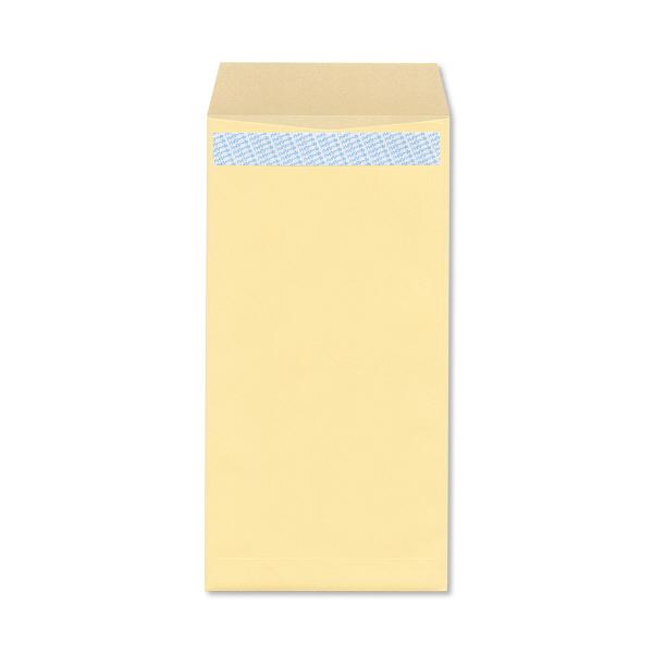 ハート 透けない封筒 カラー テープ付 長3〒枠あり クリーム XEP273 500枚