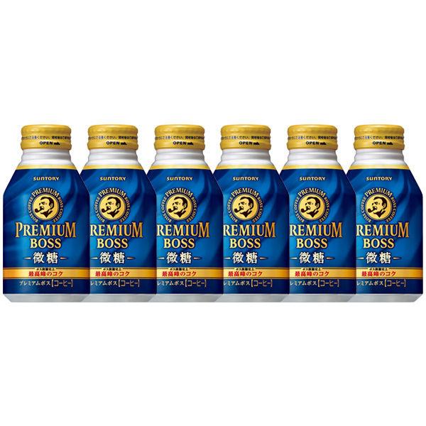 プレミアムボス 微糖 260g 6缶