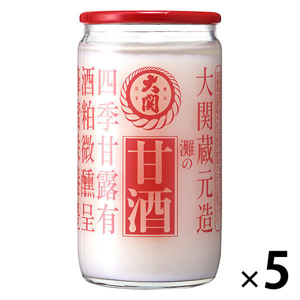LOHACO - 大関 甘酒 瓶詰 190g 5...