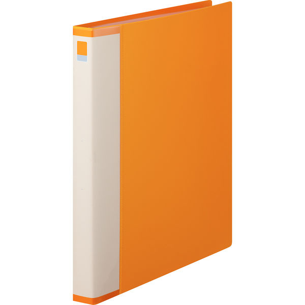 クリヤーブック交換式15P オレンジ3冊