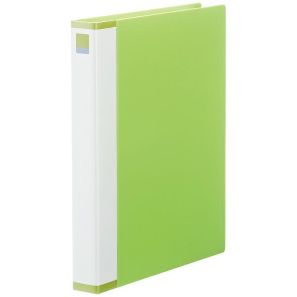 クリヤーブック交換式25P グリーン3冊