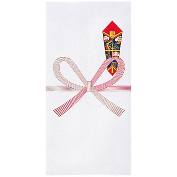 今村紙工 のし袋 封筒型万円袋 1パック(50枚:10枚入×5袋)