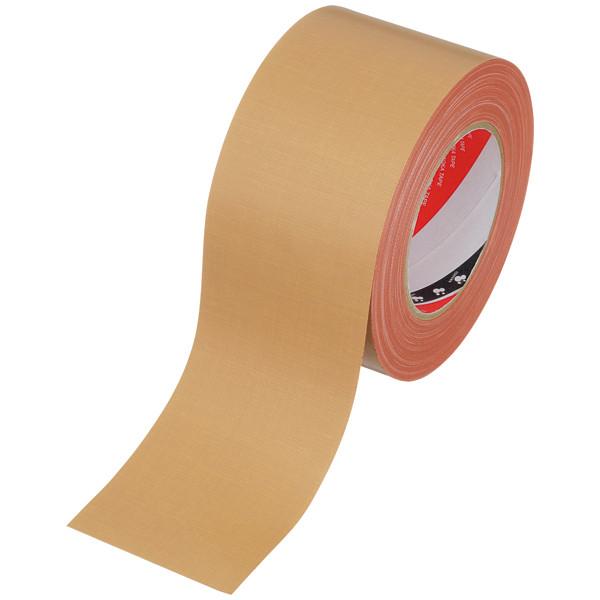 オリーブテープ No.141 0.37mm厚 75mm×25m巻 茶 寺岡製作所