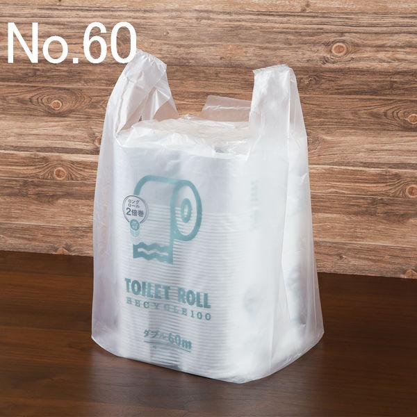レジ袋 半透明 No.60 100枚