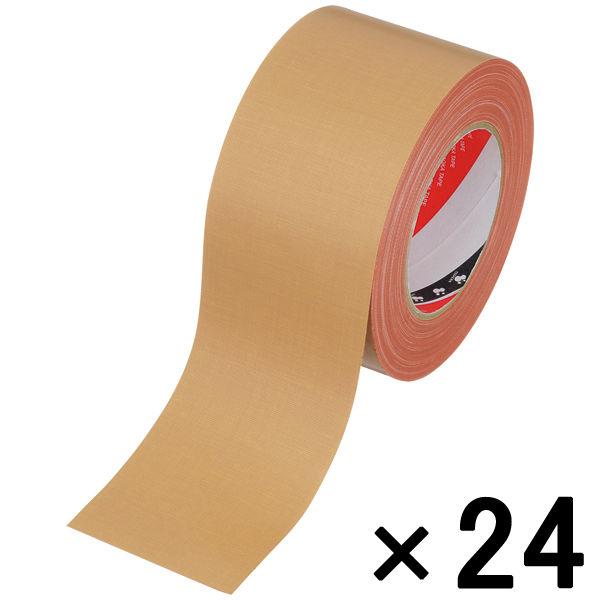 オリーブテープ No.141 0.37mm厚 75mm×25m巻 茶 1箱(24巻入) 寺岡製作所