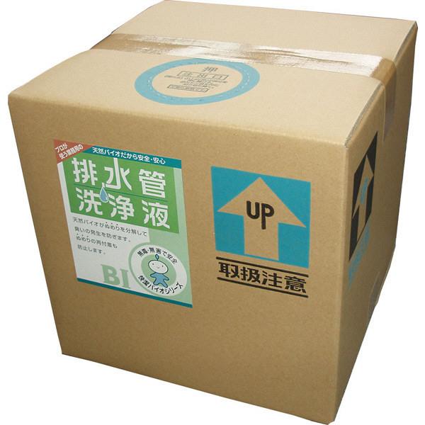 スリーケー 排水管洗浄液 20L 323010 1個 コック付 (取寄品)