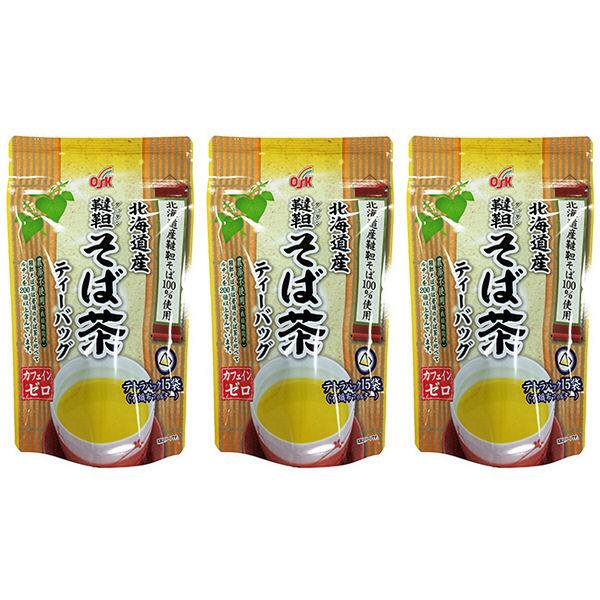 OSK 北海道産韃靼そば茶 15バッグ