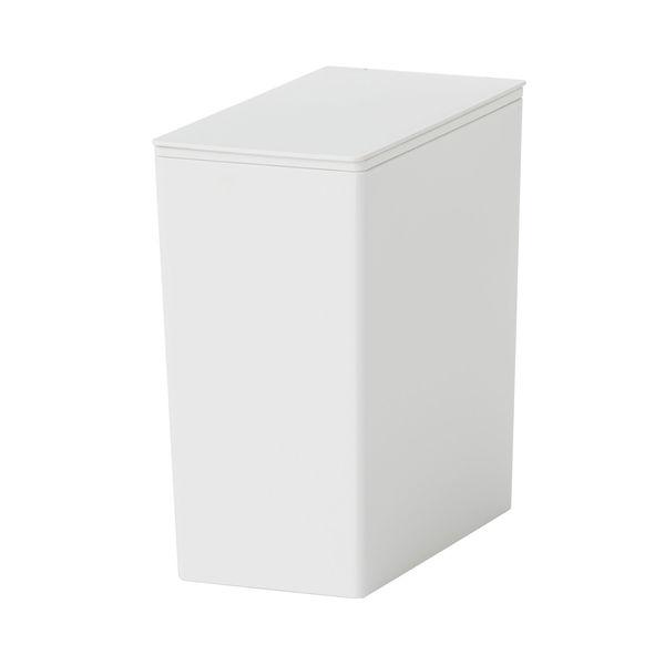 無印良品 ポリプロピレンごみ箱・角型・袋止め付/小(約3L)