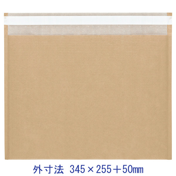 酒井化学工業 ENクッション封筒(茶)大サイズ EN封筒袋 345×255+50 1セット(100袋入×3)