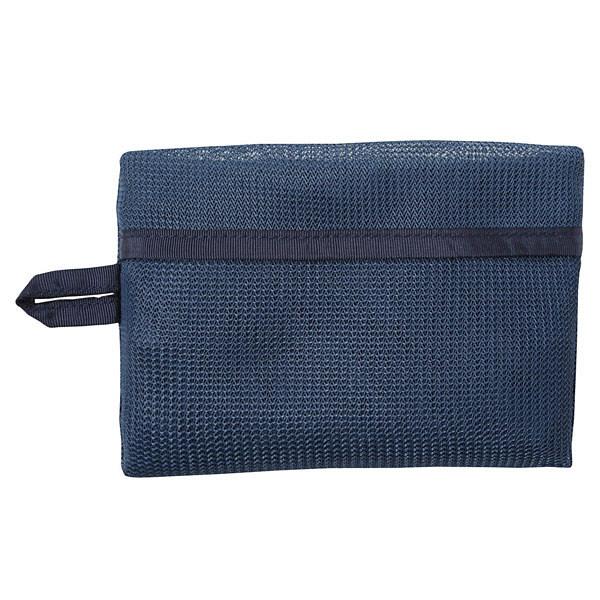 無印良品 そのまま洗える衣類ケース ブルー・約26×40×6.5cm