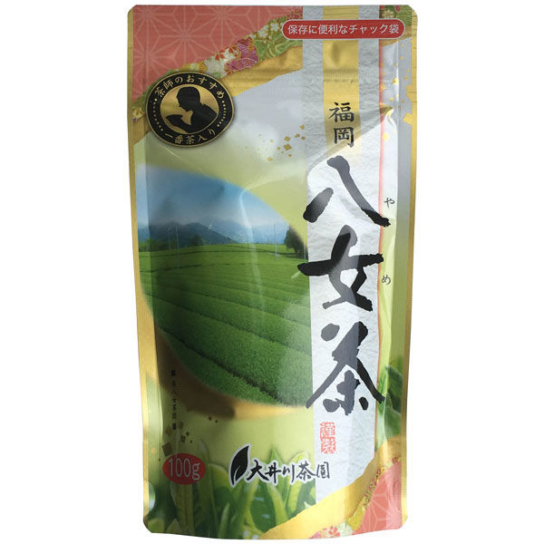 茶師のおすすめ 福岡八女茶 1袋