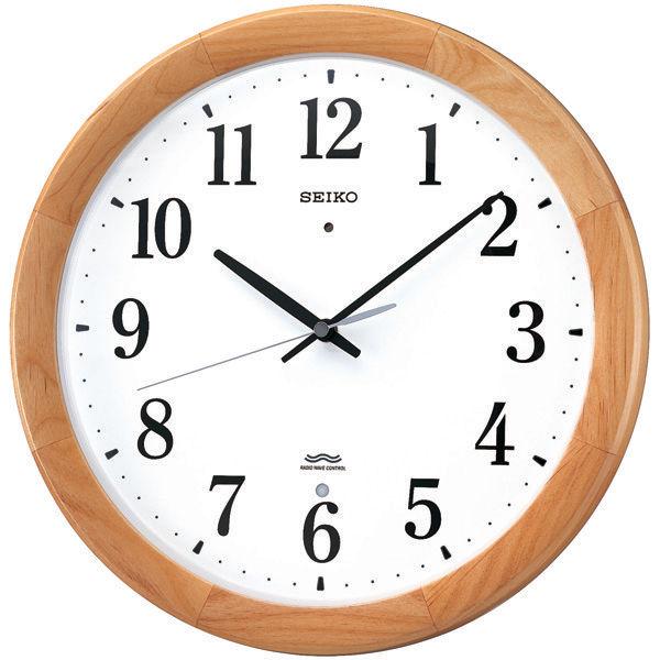 セイコー 電波掛時計木枠 KX311B