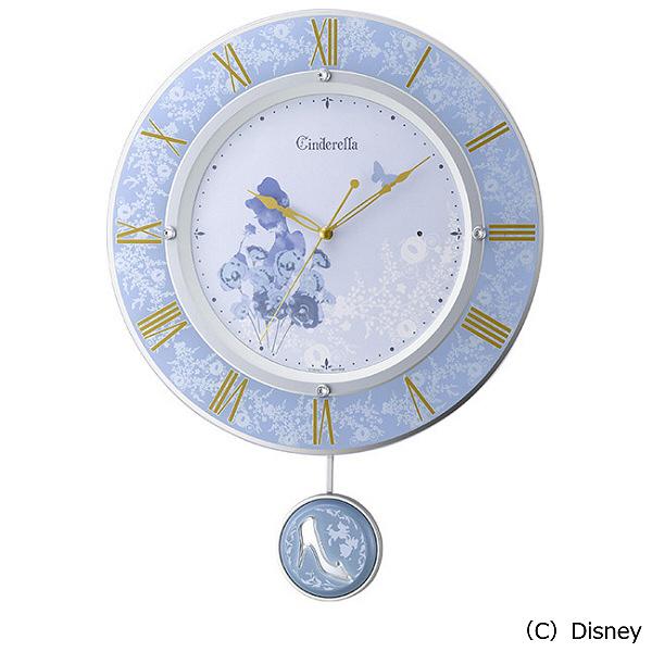 電波掛時計 シンデレラ振り子時計